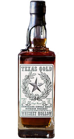 Texas Gold Handmade Single Barrel Single Malt Bourbon Whiskey
