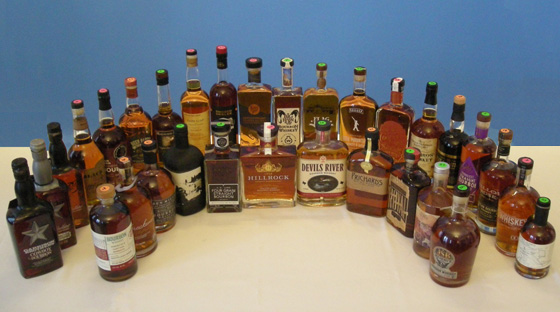 The Fifty Best Bourbon Tasting of 2018