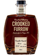 Crooked Furrow Double Barrel Bourbon Whiskey