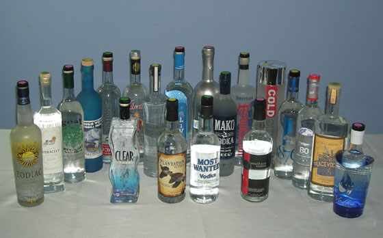 The Great Domestic Vodka Tasting of 2012
