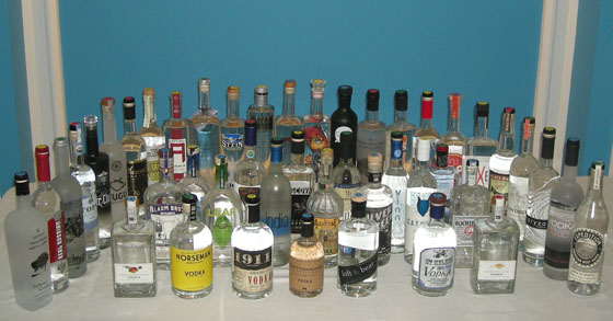 The Fifty Best Domestic Vodka Tasting 2014