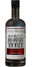 Ogden's Own Five Wives Vodka