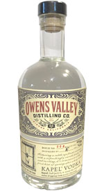 Owens Valley Distilling Kapel' Vodka