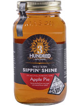 3 Hundred Days Western Sippin' Shine Apple Pie