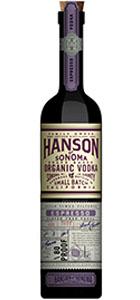Hanson of Sonoma Espresso Organic Vodka