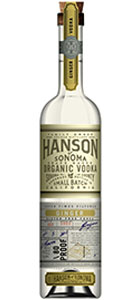 Hanson of Sonoma Ginger Organic Vodka
