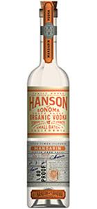 Hanson of Sonoma Mandarin Organic Vodka