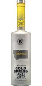 Bozeman Spirits Distillery Montana Cold Spring Lemon Vodka