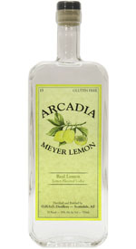 Arcadia Meyer Lemon Flavored Vodka