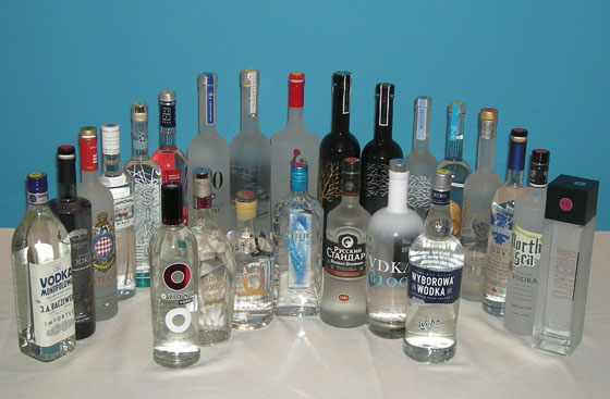 The Fifty Best Imported Vodka Tasting