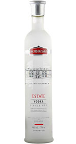 Sobieski Estate Single Rye Vodka