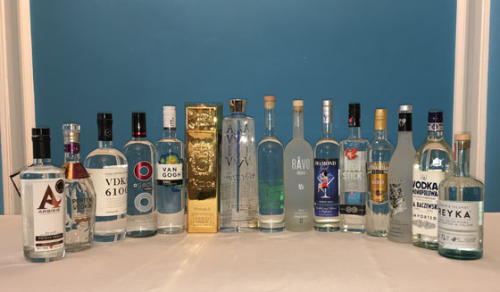 The Fifty Best Imported Vodka Tasting 2017