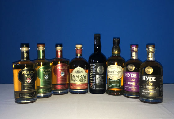The Fifty Best Irish Whiskey Tasting 2019