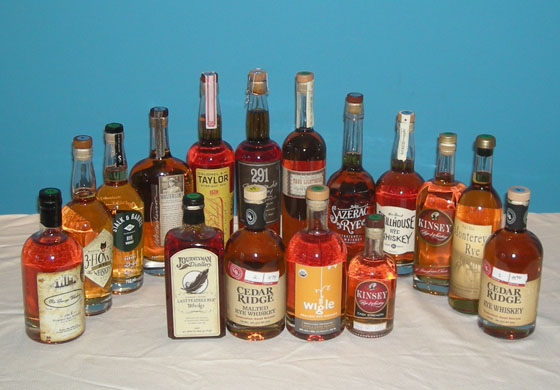 The Fifty Best Rye Whiskey Tasting 2015