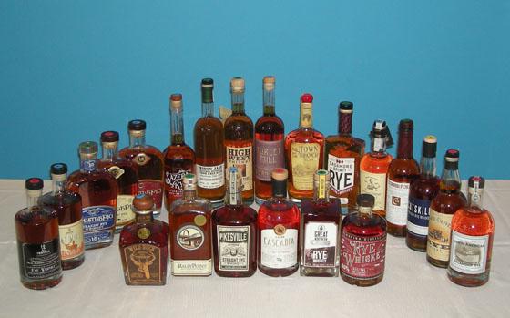 The Fifty Best Rye Whiskey Tasting 2016