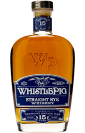 WhistlePig 15 Year Straight Rye Whiskey