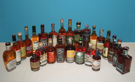 The Fifty Best Rye Whiskey Tasting 2017