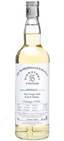 Signatory Laphroaig 13 Year Old 1998 - Un-Chillfiltered