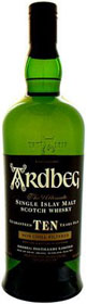 Ardbeg 10 Single Malt Scotch