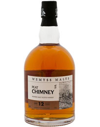 Wemyss Malts- Peat Chimney 12 yr Single Malt Scotch