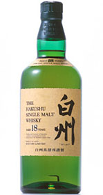 Suntory Hakushu 18