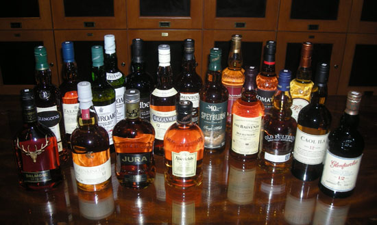 The Fifty Best Single Malt Scotch 10-12 yo Tasting 2011