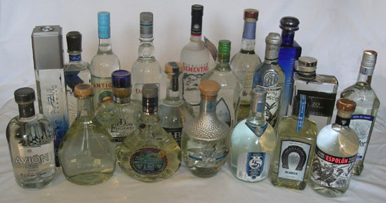 white tequila brands