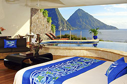 Jade Mountain Moon Infinity Suite