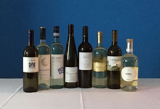 The Fifty Best Italian White WIne Tasting of 2017