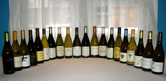 The Fifty Best Sonoma Chardonnay Tasting of 2015