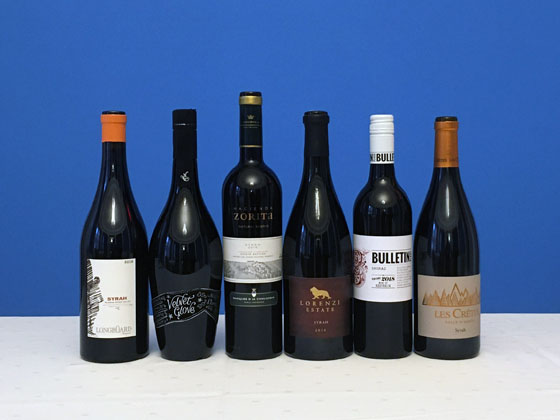 The Fifty Best's Syrah-Shiraz Tasting of 2020
