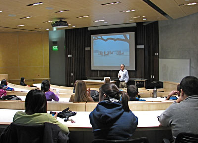 Classroom in Mondavi Institute