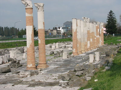 Roman ruins at Aguileia