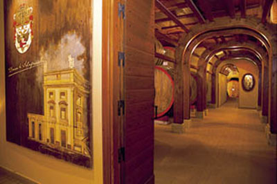 Duca di Salaparuta cellar