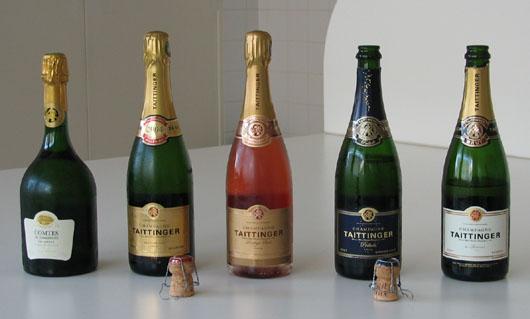 Taittinger Champagnes