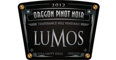 Lumos Wine Company - 2012 Temperance Hill Vineyard Pinot Noir