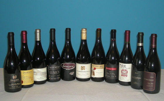 The Fifty Best Willamette Valley Pinot Noir Tasting of 2014