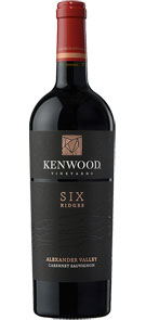 Kenwood Vineyards Six Ridges Alexander Valley Cabernet Sauvignon