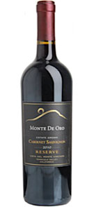 Monte de Oro Cabernet Sauvignon Reserve Estate Grown