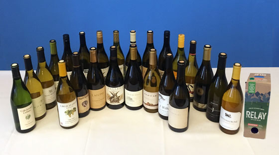 The Fifty Best California Chardonnay Tasting of 2019