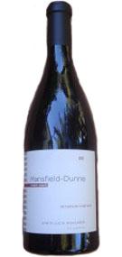 Mansfield-Dunne 2012 Pinot Noir Peterson Vineyard