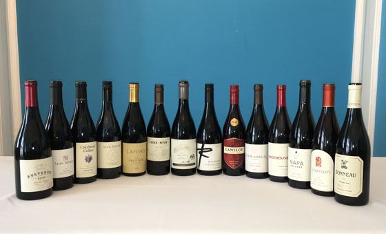 The Fifty Best California Pinot Noir Tasting of 2017