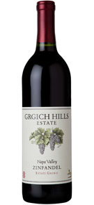 Grgich Hills Estate 2012 Estate Grown Zinfandel
