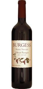 Burgess Cellars 2011 Napa Valley Cabernet Sauvignon