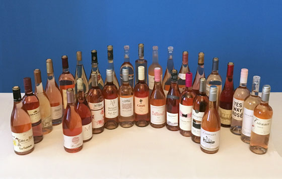 The Fifty Best Rosé Tasting of 2019