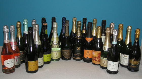 The Fifty Best Sparkling Wine Tasting of 2015