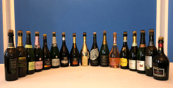 The Fifty Best Sparkling Wine Tasting of 2018