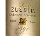 Valentin Zusslin Crémant d'Alsace Brut Zero Sans Soufre
